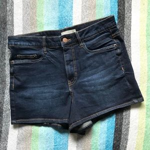 bp Nordstrom High Waisted Blue Jean Shorts